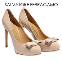 Salvatore Ferragamo sieviešu apģērbu un apavu kolekcija.