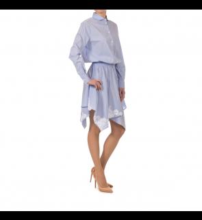 Sky blue E.ERMANNO SCERVINO Dress