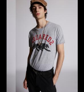 Grey Melange DSQUARED2 T-shirt