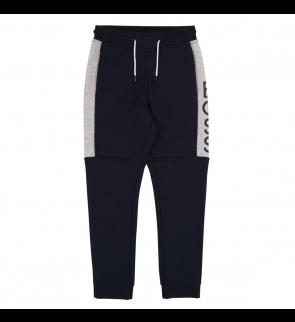 Navy Grey HUGO BOSS Trousers