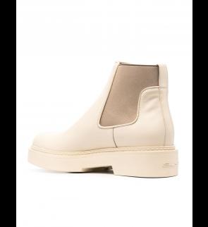 Beige SANTONI High shoes