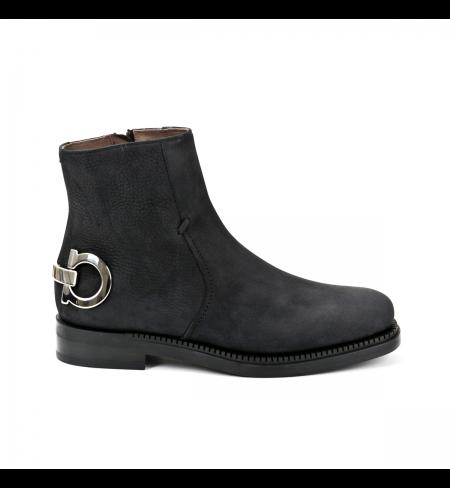 Black SALVATORE FERRAGAMO High shoes