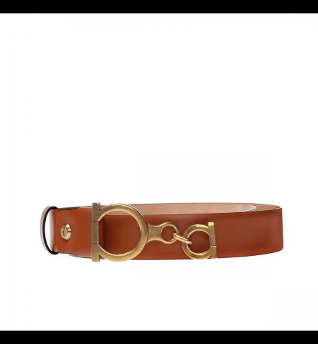 Brown Beige SALVATORE FERRAGAMO Belt