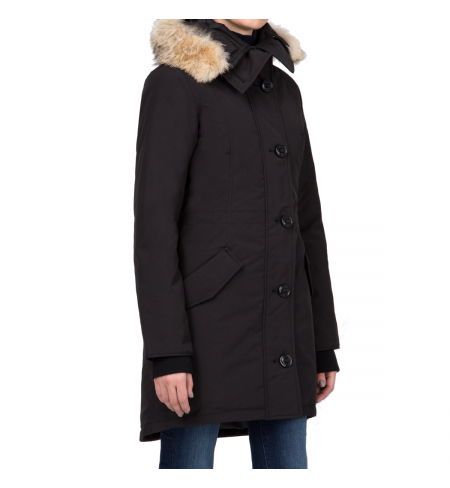 Rossclair Black CANADA GOOSE Down jacket