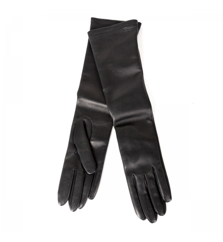 Black SALVATORE FERRAGAMO Gloves