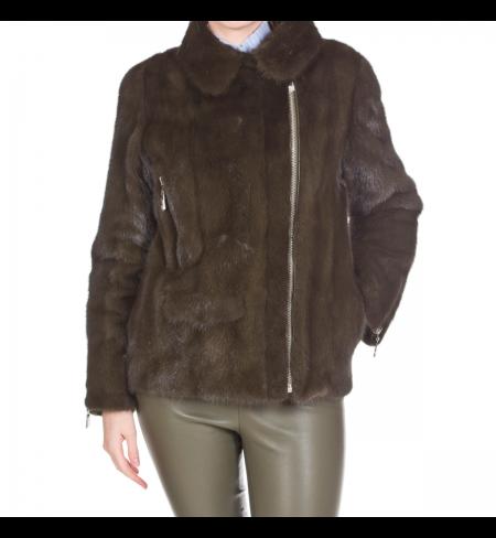 Kaki MAX MOI Fur coat
