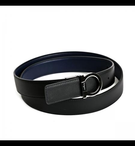 Blue-Black SALVATORE FERRAGAMO Belt