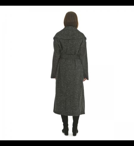 Black LORENA ANTONIAZZI Coat