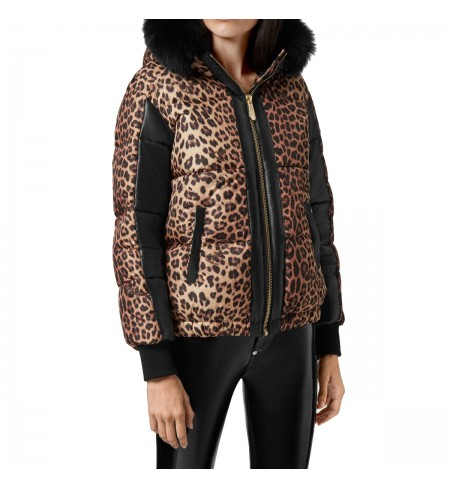 Leopard PHILIPP PLEIN Down jacket