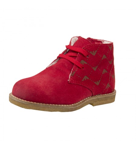 Rosso ARMANI JUNIOR High shoes