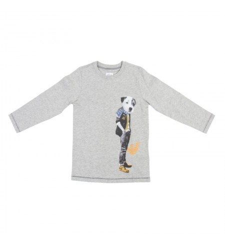 ARMANI JUNIOR T-shirt with long sleeves