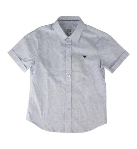 Light Blue ARMANI JUNIOR Shirt