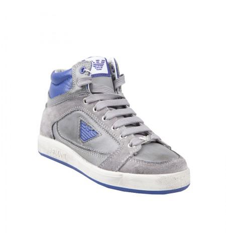 Blu ARMANI JUNIOR Sport shoes