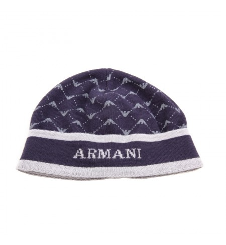 Blu ARMANI JUNIOR Hat
