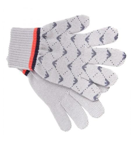 Grigio KARL LAGERFELD Gloves