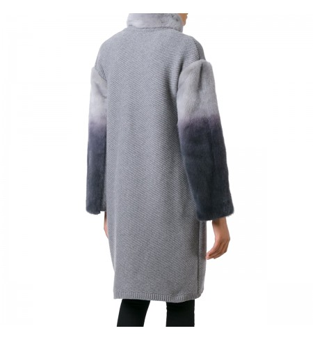 Grigio Melange BLUGIRL Coat