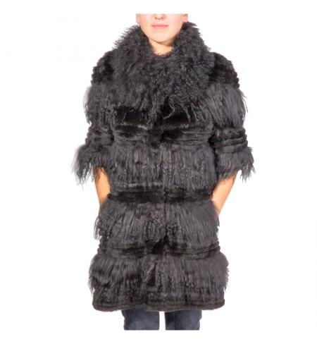 CLASS ROBERTO CAVALLI Fur coat