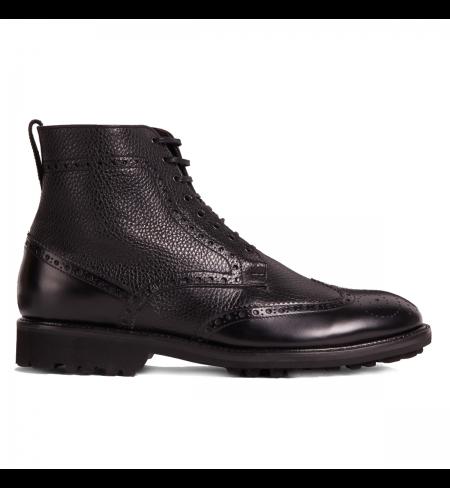 Black CORNELIANI High shoes