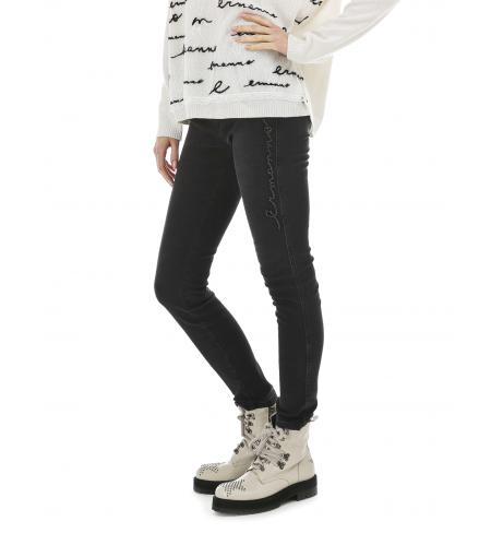 Black E.ERMANNO SCERVINO Jeans