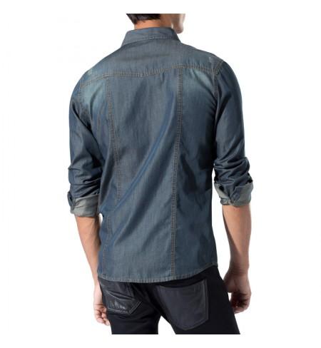 Beluga Blue HERNO Shirt