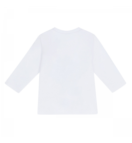 White Grey HUGO BOSS T-shirt with long sleeves