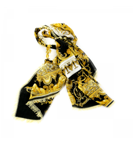 Black Gold VERSACE Scarf