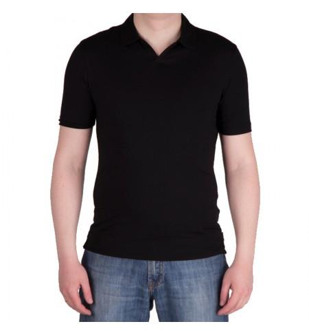 Nero  ARMANI COLLEZIONI Polo shirt