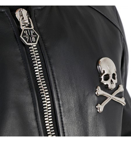 Chris PHILIPP PLEIN Leather jacket