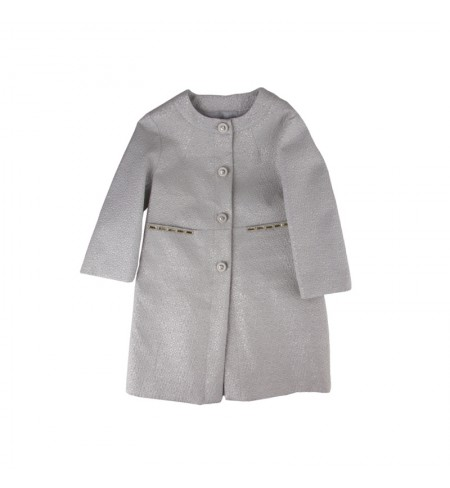 Stone Grey MISS BLUMARINE Coat