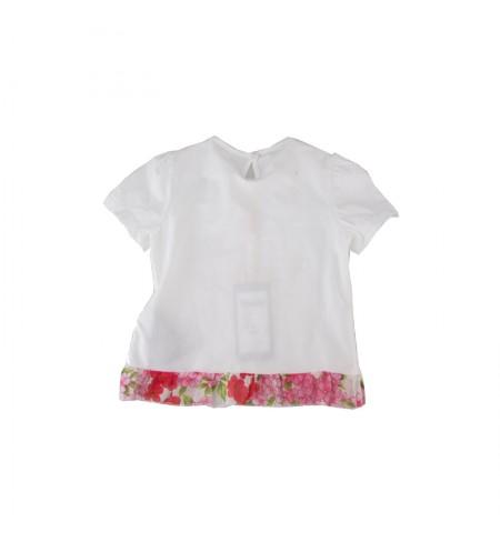 White Pink  MISS BLUMARINE T-shirt