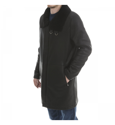 Brown CORNELIANI Sheepskin coat