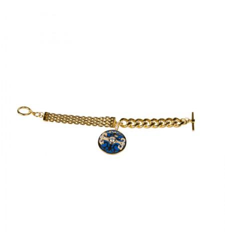 French Blue Gold MIRIAM SALAT Bracelet