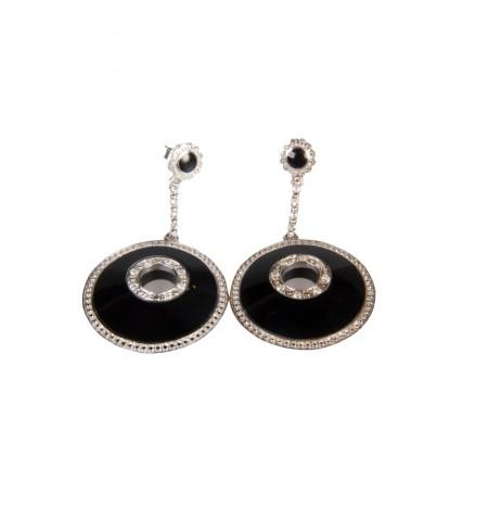 Black MIRIAM SALAT Earrings