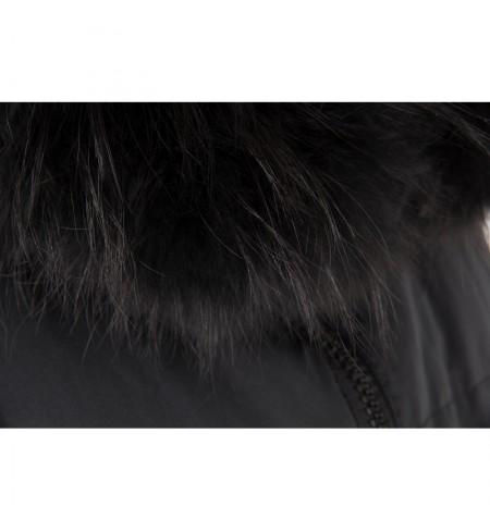 Black Raccoon VIOLANTI Coat