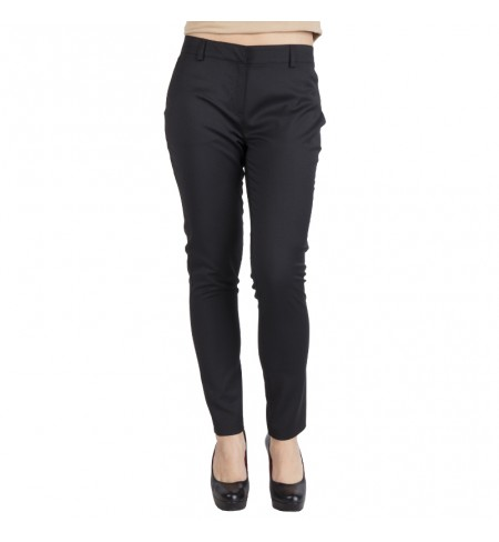 Black KARL LAGERFELD Trousers