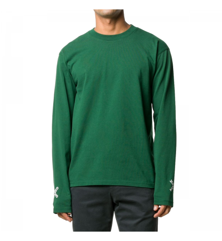 Green KENZO T-shirt with long sleeves