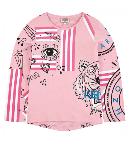 Geeka KENZO T-shirt with long sleeves