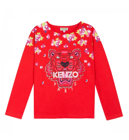 Tiger Jg KENZO T-shirt with long sleeves
