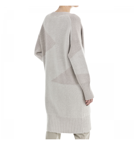 Travertine LORENA ANTONIAZZI Cardigan