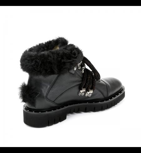 Black LORENA ANTONIAZZI High shoes