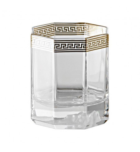 Medusa d'Or Whisky VERSACE Flute