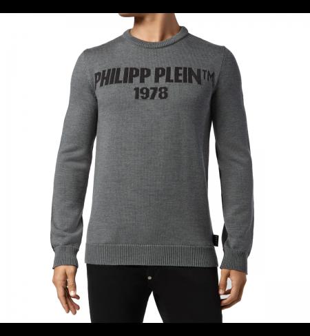 Grey Dark Grey PHILIPP PLEIN Jumper