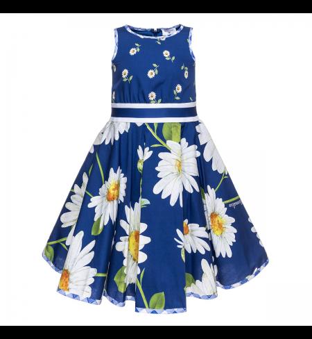 Blu Navy MONNALISA Dress
