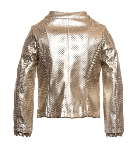 MONNALISA Leather jacket