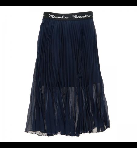 Blu Navy MONNALISA Skirt