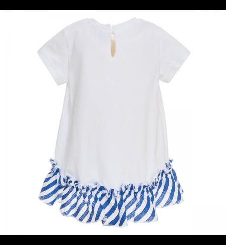 Bianco Bluette MONNALISA Dress