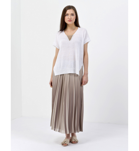 Beige PESERICO Skirt