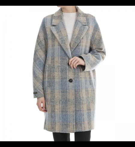 Blue PESERICO Coat