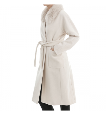 Milk PESERICO Coat
