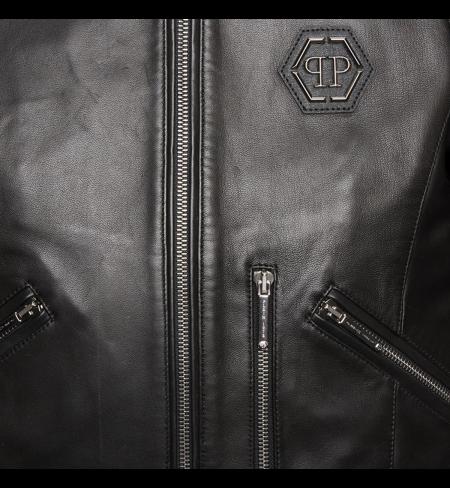 Relax PHILIPP PLEIN Leather jacket